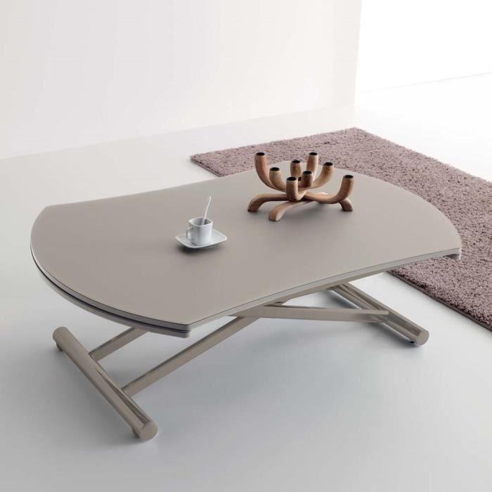TABLE À MANGER SEULE Table Réglable En Hauteur Et Transformable, ...