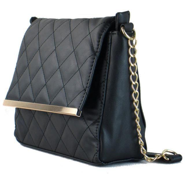 Pour Dames Matelassées Designer Femmes Lanière Sac Bandoulière En À ... 24591df6f82b