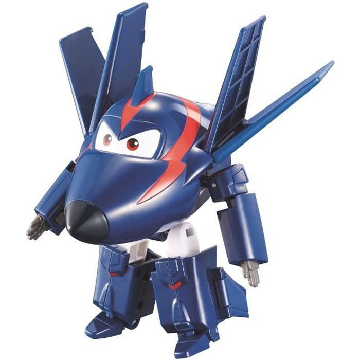 9584d2110a421 FIGURINE - PERSONNAGE SUPER WINGS Transforming AGENT CHACE 12 cm - Saiso