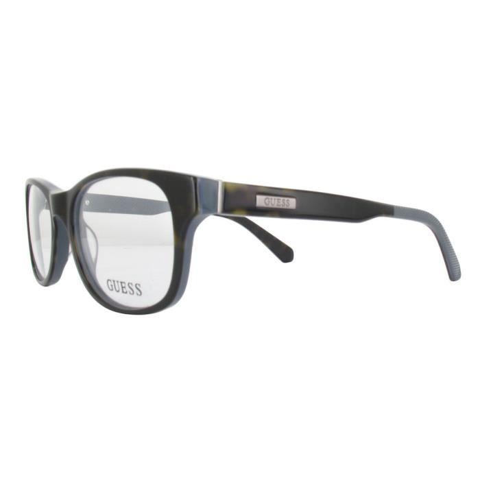 5ed1ce45d5 GUESS Homme lunettes de vue GU1858-052-51 DARK HAVANA Acetate ...