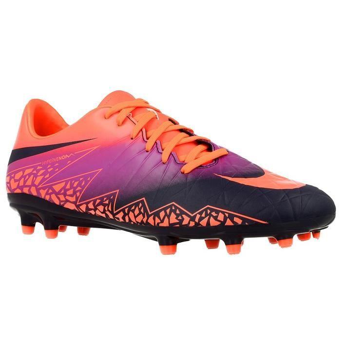 scarpe autunnali come ordinare prezzi incredibili NIKE Chaussures de Football Terrain Sec Hypervenom Phelon II FG - Orange