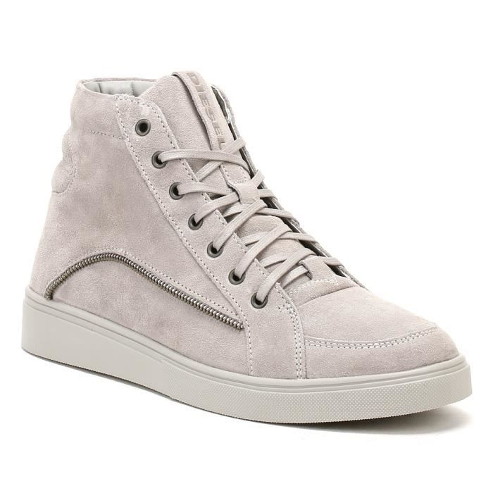 Diesel Homme Dove Gris S-Vipe Mid Baskets etMQMdW6O