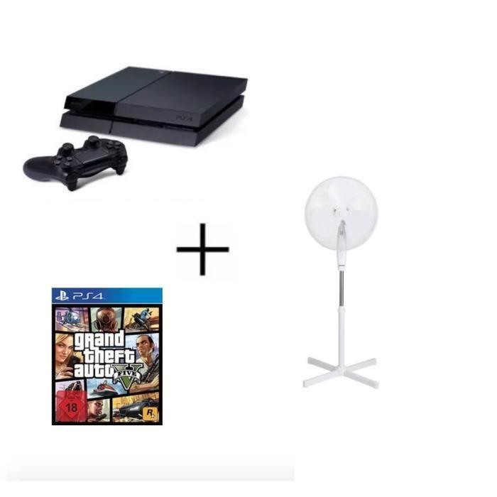 CONSOLE PS4 PS4 500 GO + 5 Jeux + PSN 14 Jours