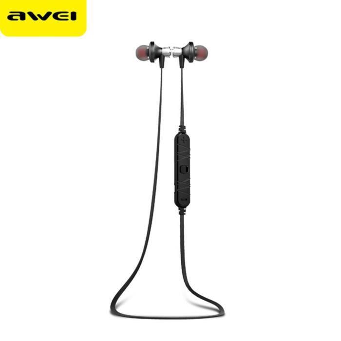 Écouteurs Sportifs Bluetooth Avec Contrôle Du Microphone En Circuit Fermé Annulation De Bruit