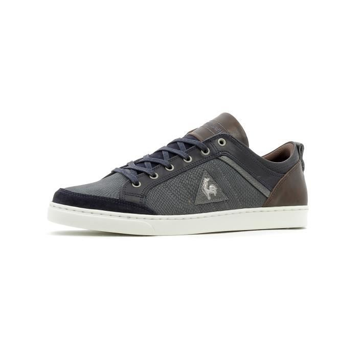 Baskets basses Le Coq Sportif Obaldia Low Leather Embossed