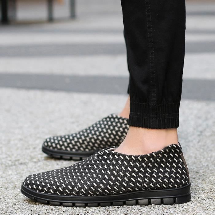 Chaussures Antidérapante plates Hommes Slip Slip on on Casual Casual Hommes Antidérapante xwzIvxq4