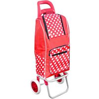 SAC SHOPPING Chariot De Courses Shopping A Roulettes Isotherme