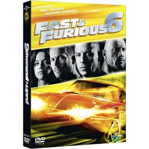 DVD FILM DVD Fast and furious 6