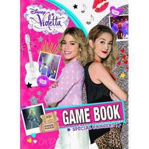 LIVRE JEUX ACTIVITÉS Game Book Violetta