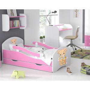 lit 70x160 achat vente pas cher. Black Bedroom Furniture Sets. Home Design Ideas