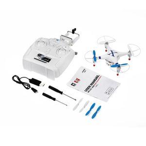 DRONE Drone Quadricoptère Avec Caméra HD FPV 4 Axes Héli