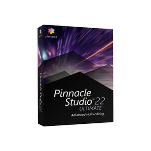 MULTIMÉDIA Pinnacle Studio Ultimate (v. 22) ensemble de boîte
