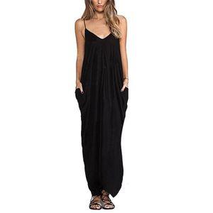 Vente robe longue noire