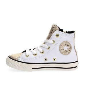 BASKET CONVERSE SNEAKERS fille WHITE, 28