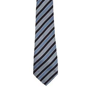 CRAVATE - NŒUD PAPILLON Premier - Cravate rayée - Homme TU Bleu marine/ble