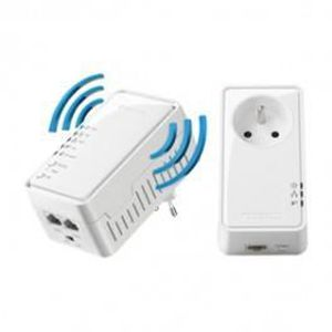 COURANT PORTEUR - CPL Prise CPL 500 Mbps pack duo