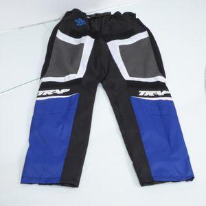 BLOUSON - VESTE Pantalon de moto d'enduro cross bleu man TRAP tail