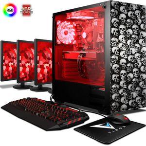 UNITÉ CENTRALE  VIBOX Pyro RS670-55 Pack PC Gamer - AMD 6-Core, Ra