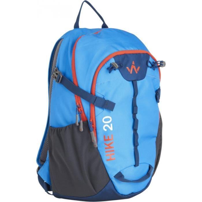 WANABEE Sac à dos de randonnée Hike 20 - Mixte - Bleu