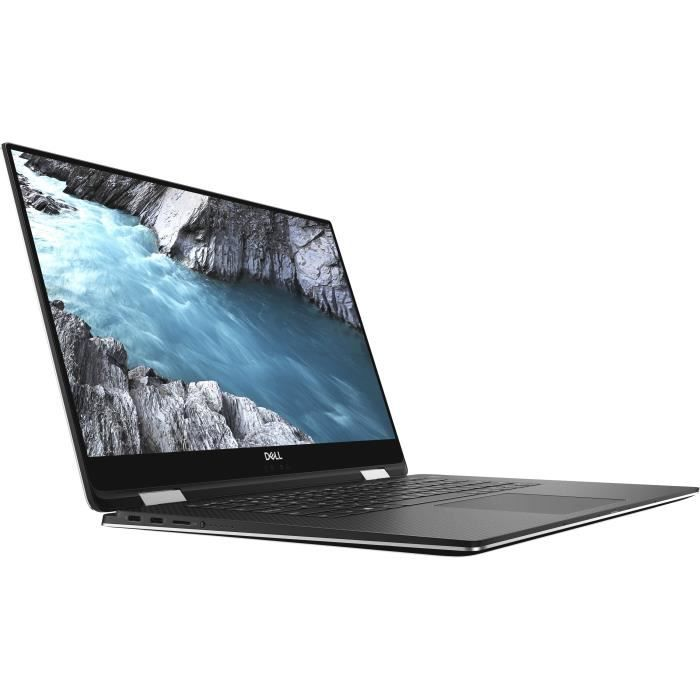 DELL PC Ultrabook XPS 15-9575 UHD Touch Silver - 16 Go - Core i7-8705G - 1 To HDD SSD PCIe - Vega 8GB RAM - Windows 10 Advanced