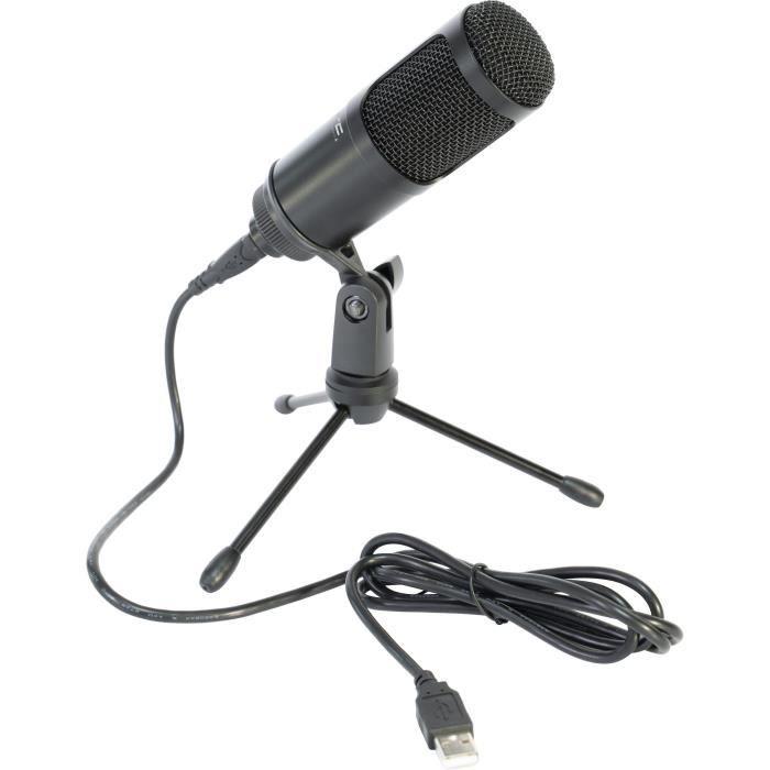 LTC - STM100 - Microphone USB pour enregistrement, streaming et podcast