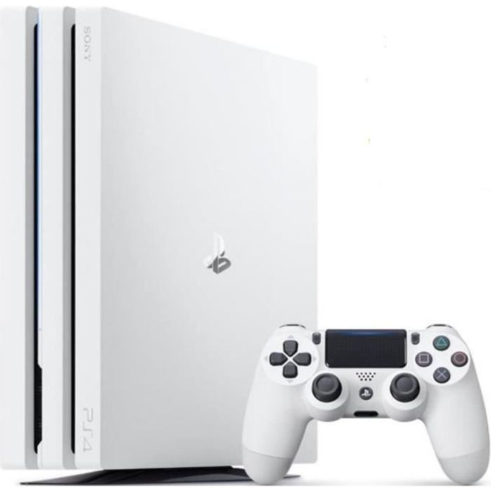 PS4 Pro 1To Blanche