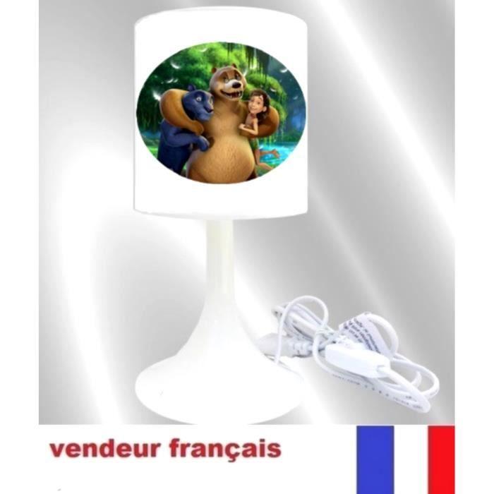 Lampe De Chevet Moogly Livre De La Jungle Achat Vente Lampe De