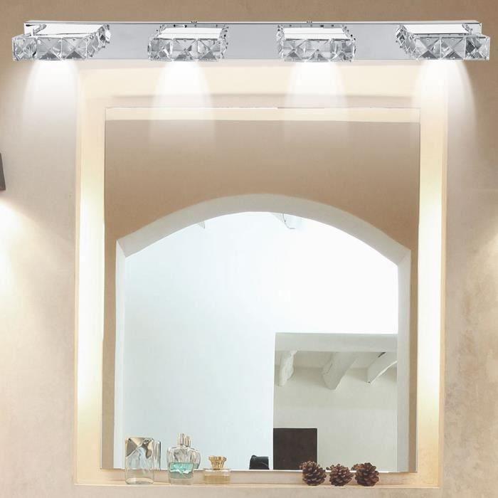 4 LED Lampe frontale miroir Lumière de miroir de chambre à coucher - FUT -  HSDCQN-A2706
