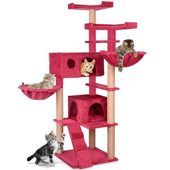 abab6f5f7117db Arbre a chat avec 2 hamacs - Achat   Vente pas cher