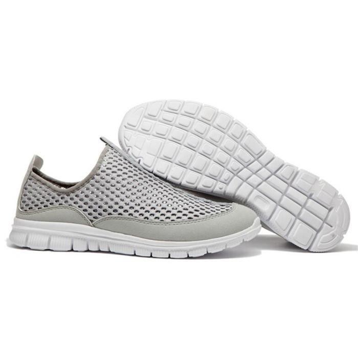 Nouveau Chaussure Homme Casual Mesh Basket Homme Skate Shoes Couleurs Sneakers Sport Shoes Espadrilles