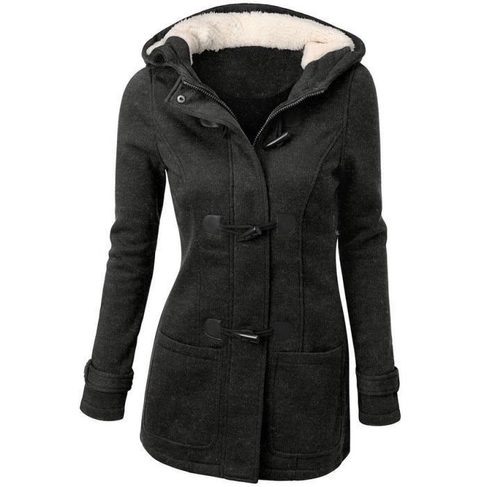 44e766a36bb22c Duffle coat femme - Achat / Vente pas cher