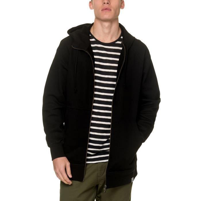 Adidas Originals Sweat Zippé à Capuche noir Homme Noir Noir - Achat ... f4d1494c0566
