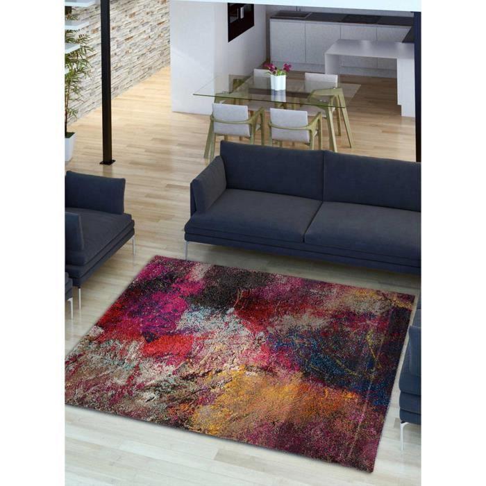 Tapis X Multicolore Achat Vente Pas Cher - Faience cuisine et tapis pas cher 160x230