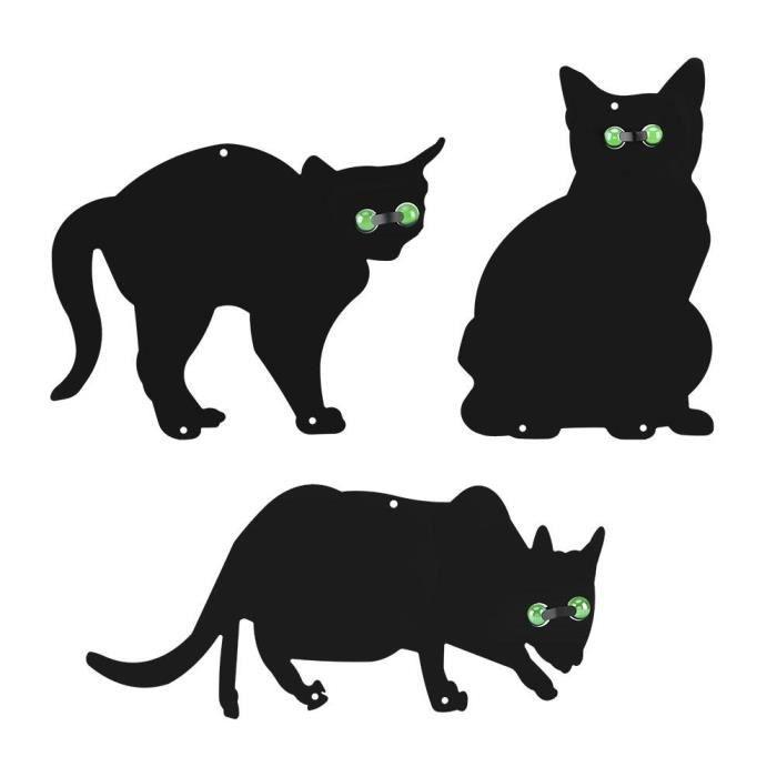 3 pcs chat en Metal de décoration jardin --Timesquare - Achat ...