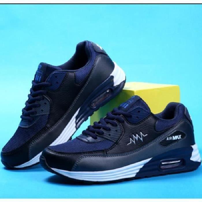SHELOVEIT® Homme Air Chaussures Respirantes Mode Sport Bas...