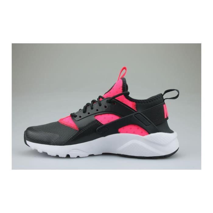 Baskets Nike Air Huarache Run Ultra Junior Noir Rose