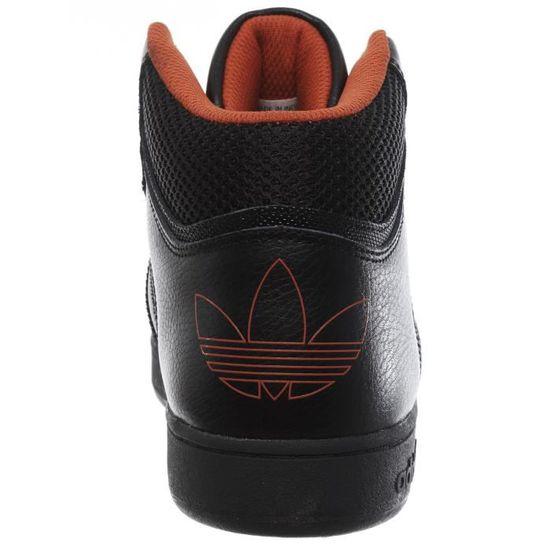 promo code a6c50 09e2b Chaussure Enfant Adidas Varial Mid J Core Noir-Native Orange Noir Noir -  Achat   Vente basket - Cdiscount
