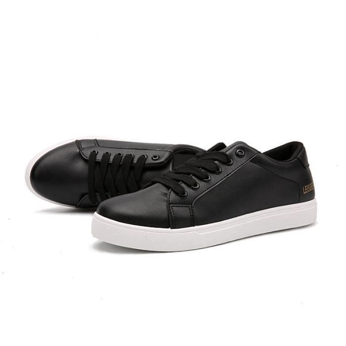 Chaussures Homme Cuir Confortable mode Homme chaussure de ville BLKG-XZ210Blanc39 Y3TA3E