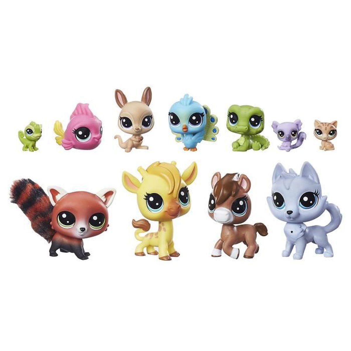 Figurines Littlest PetShop multipack : Les joyeux copains ...