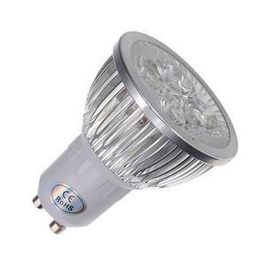 AMPOULE - LED 1x Gu10 Blanc 4 Led 6W economie d'energie Ampoule