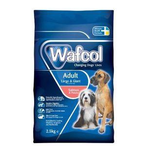 CROQUETTES Wafcol Croquettes pour chien adulte de grande tail