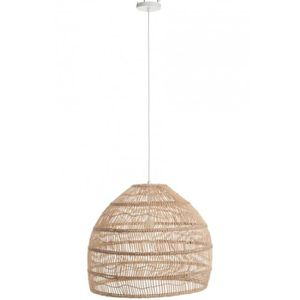 LUSTRE ET SUSPENSION Suspension boule rotin naturel Brut