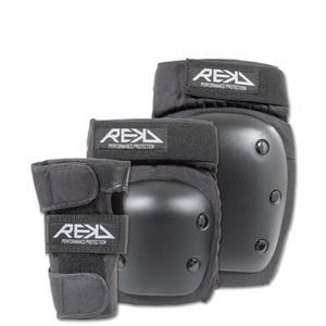 KIT PROTECTION Rekd pack 3 protections heavy duty noir-l
