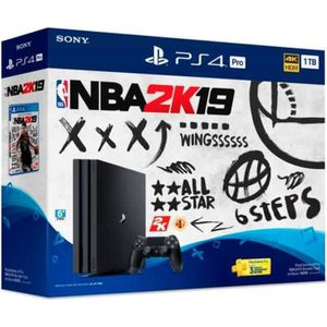 CONSOLE PS4 PS4 PRO 1 TO + NBA 2K19 + PSN 14 Jours
