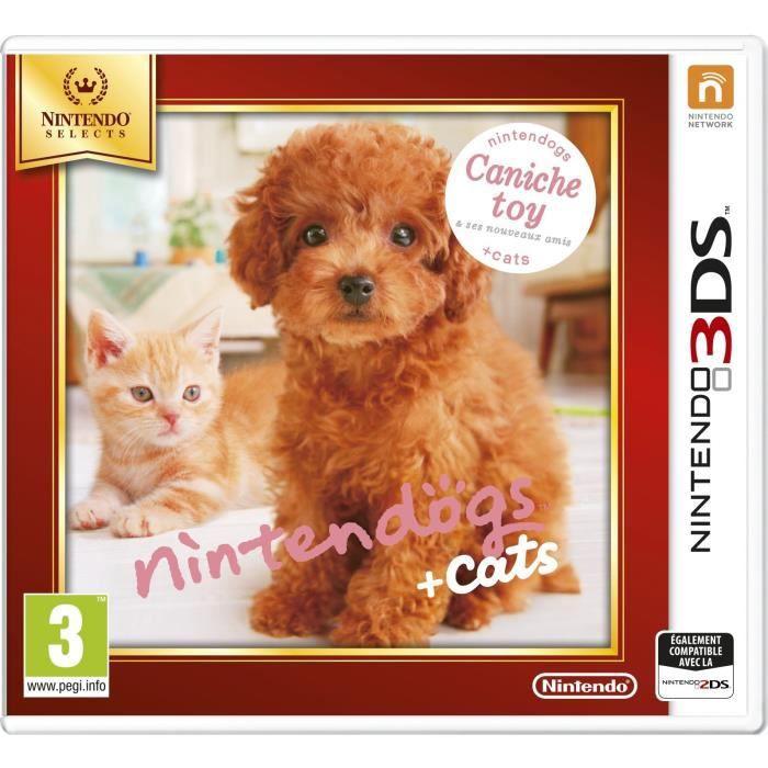jeux ds nintendogs cats