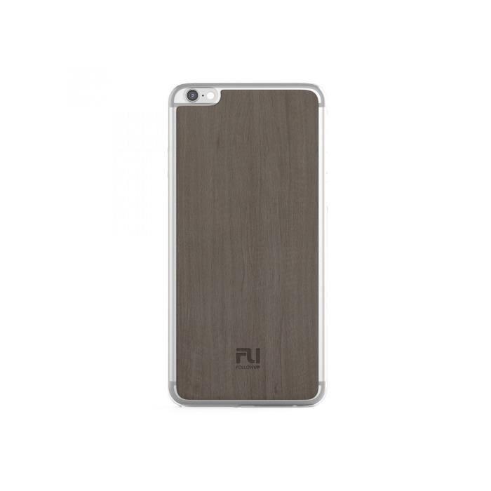 FOLLOW UP Coque Parisian Cover Iphone 6 plus / 6s plus - Bois beige