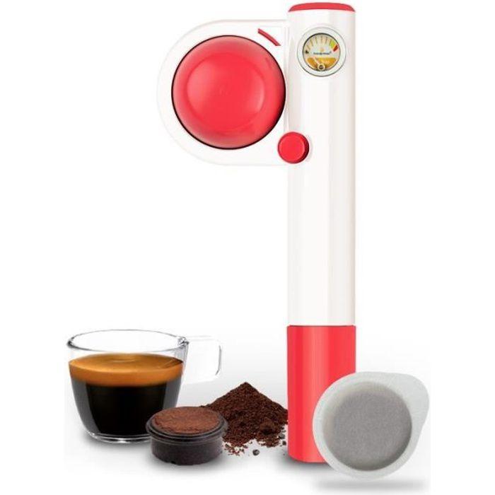 HANDPRESSO PUMP POP Machine à expresso manuelle - Rose