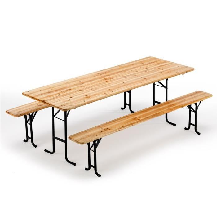 Table Et Banc Bois Jardin Achat Vente Pas Cher