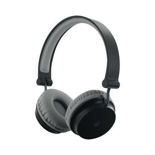 Casque Bluetooth Noir Et Gris Pliable Casb16n