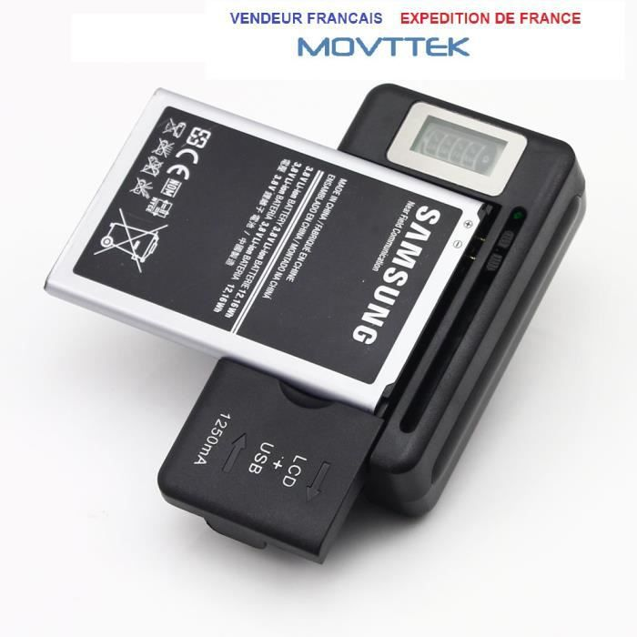 chargeur batterie telephone